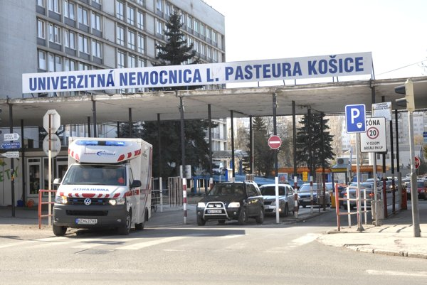 Košická nemocnica. NKÚ preverila jej nákupy.