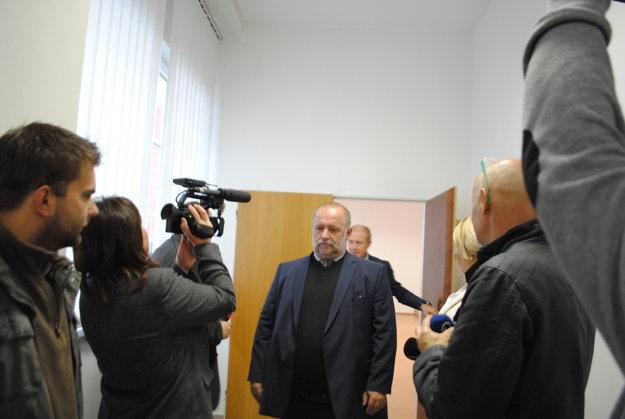 Miroslav B. po skončení pojednávania.