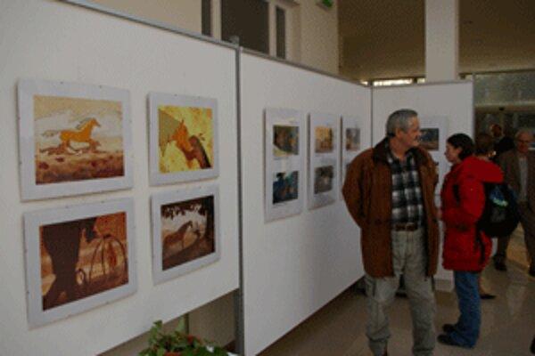 Výstava ponúka ilustrácie viacerých autorov.