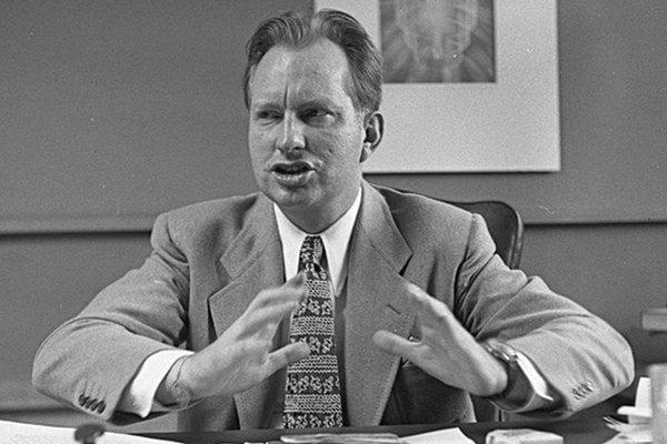 Zakladateľ scientológie L.Ron Hubbard.