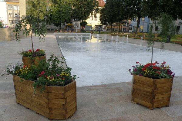 O mene pre novú fontánu v centre Prievidze rozhodujú ľudia v hlasovaní.