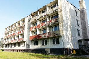 Mestská budova, v ktorej majú byť nájomné byty.