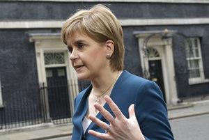 Škótska líderka Nicola Sturgeonová.