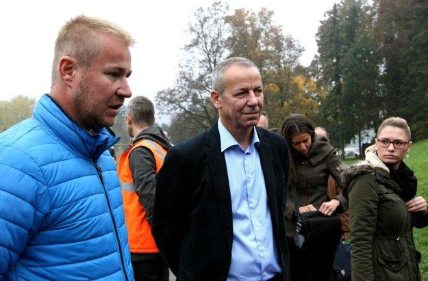 Primátor Ján Nosko dnes predstavil projekt spoločne so zhotoviteľom Michalom Hrnčárom.