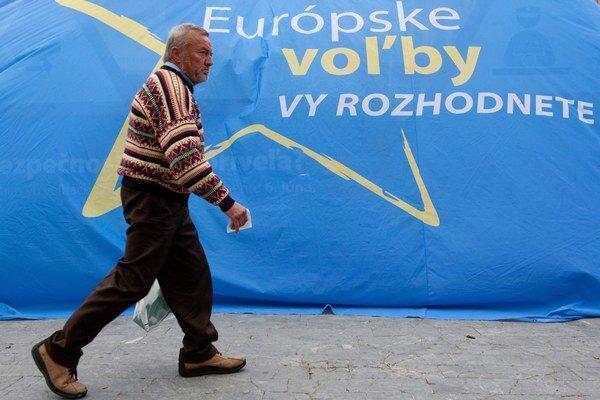 Voliči sa u nás eurovoľbám skôr vyhýbajú.