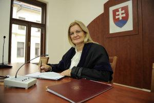Predsedníčka Krajského súdu v Prešove Anna Kovaľová.