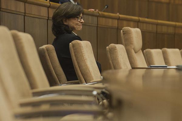Na snímke ministerka spravodlivosti SR Lucia Žitňanská.