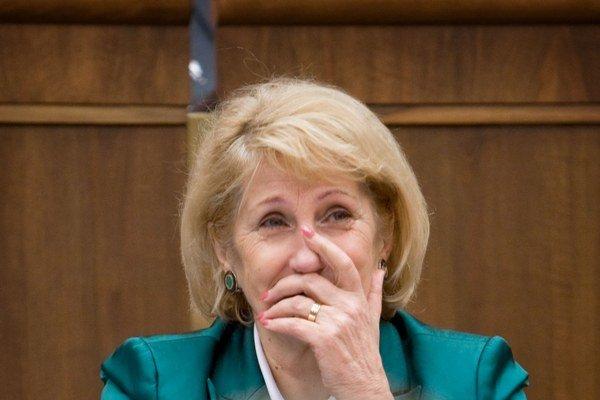Podpredsedníčka Národnej rady Jana Laššáková.