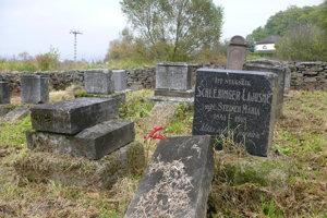 Židovský cintorín.