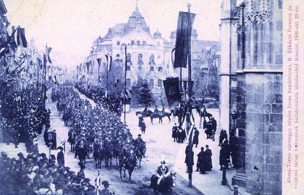 Jazdecké bandérium Abovsko-turnianskej župy, 29. 10. 1906.