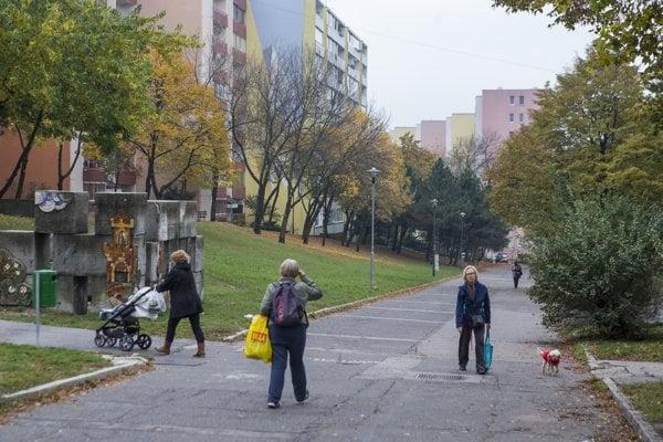 Medzi ulicami Bagarova a Janka Alexyho vznikne nová pešia zóna.