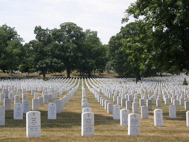 Národný cintorín v Arlingtone.