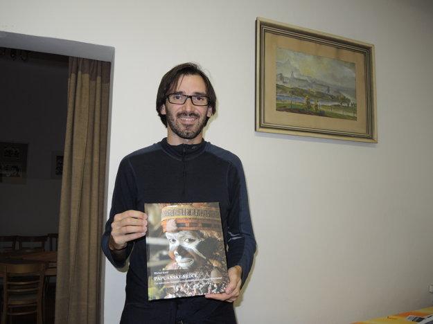 Autor so svojím posledným cestopisom.