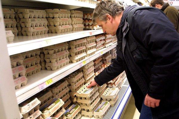 Vajcia zPoľska môžu byť nakazené salmonelózou.