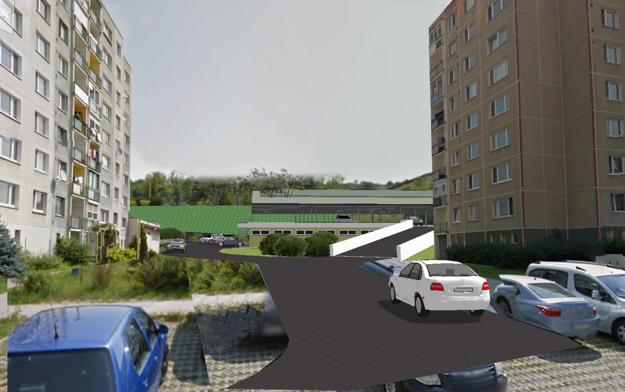 Investor chcel vytvoriť 98 parkovacích miest.