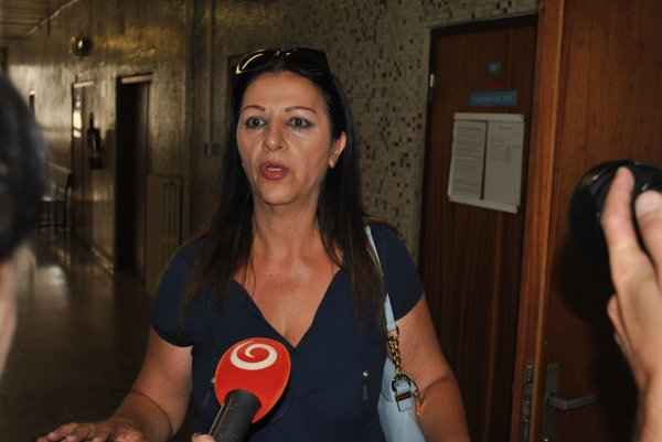 Nora Mojsejová. tentoraz na súde neprišla.