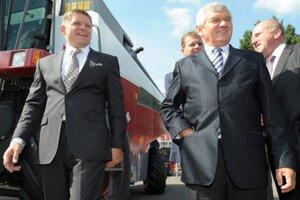 Robert Fico a Ľubomír Jahnátek.
