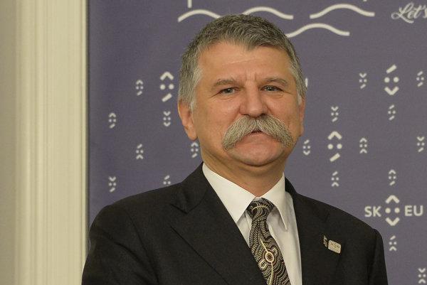 László Kövér.