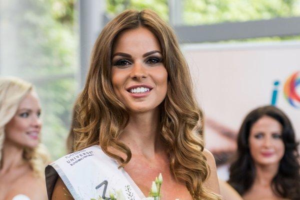 Zuzana Kollárová, miss Universe Slovensko 2016, príde do Prievidze na módnu prehliadku.