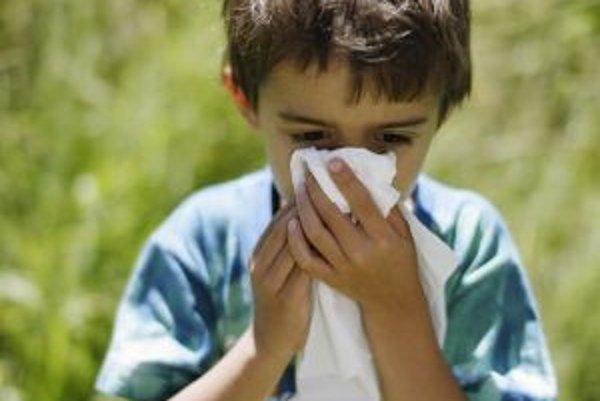 Výskyt alergií prudko narastá, až 40 percent alergikov tvoria deti.