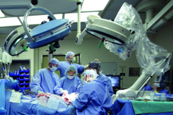 Pri transplantáciách musí byť operačný tím perfektne skoordinovaný. Času, napríklad pri transplantácii srdca či pľúc, nie je nazvyš.
