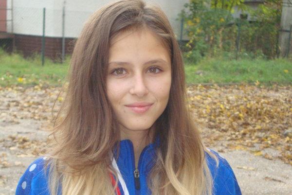 Úspešná džudistka Veronika Útisová.