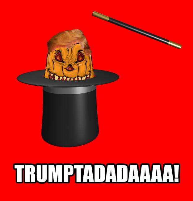 Aj na Slovensku vznikli veselé obrázky kvýhre Donalda Trumpa.