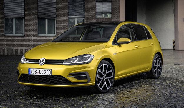 Radar je teraz skrytý za znakom Volkswagen.