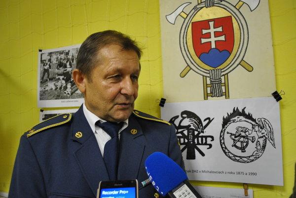 Ladislav Chvostaľ, inšpektor dobrovoľnej požiarnej ochrany.