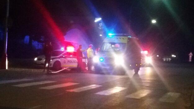 Ďalšia nehoda sa stala na Ulici A. Hlinku.
