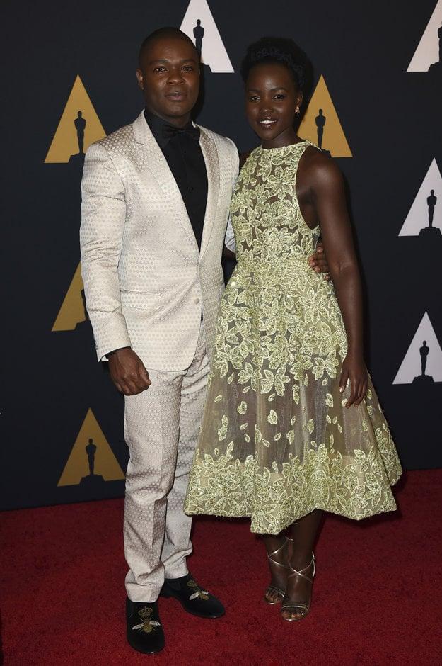 David Oyelowo a Lupita Nyong'o
