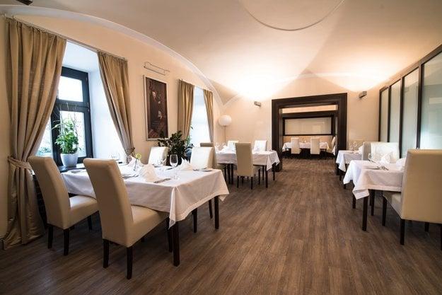 Interiér hotela Villa Nečas.