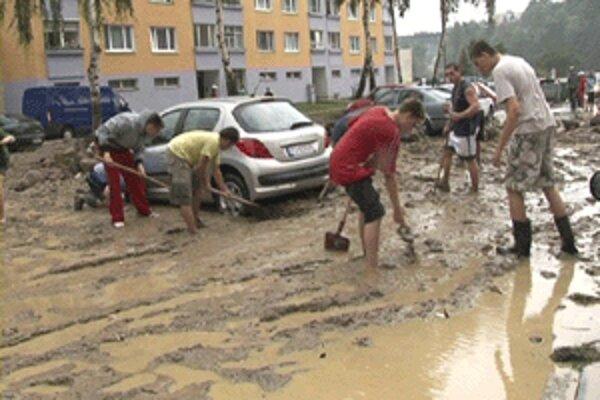 Záplavy narobili v auguste na hornej Nitre veľké škody.