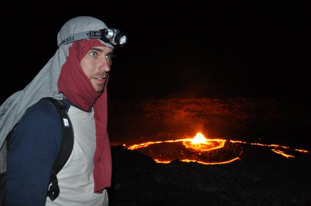 Najaktívnejšia sopka Danakil v Etiópii.