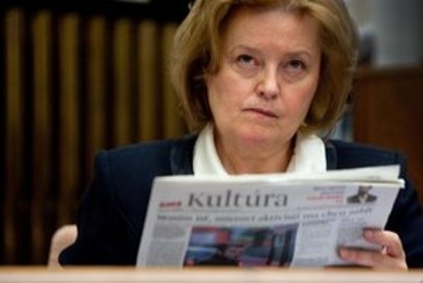 Magda Vášáryová.