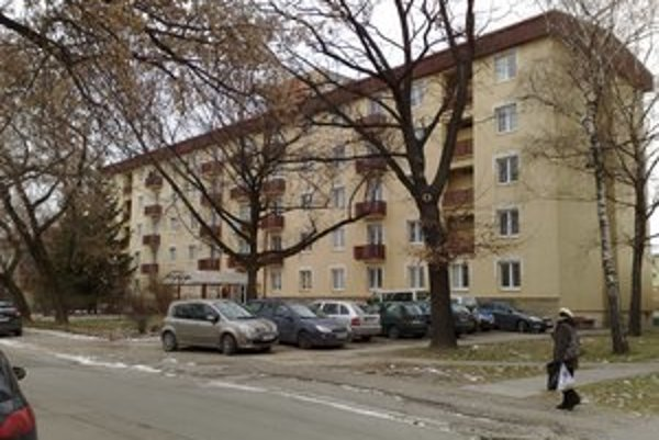 Ubytovňa je v širšom centre Košíc.