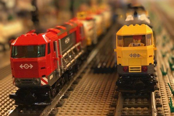 Na výstave si prídu na svoje aj milovníci vlakov a železníc.