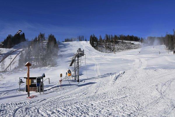 Sneh je v súčasnosti len vo vysokopoložených lyžiarskych strediskách.