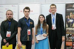 Budúci vedci z Gymnázia VPT v Martine.