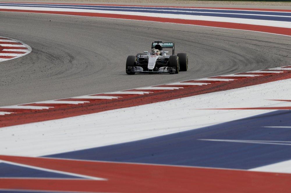 Lewis Hamilton počas Veľkej ceny USA.