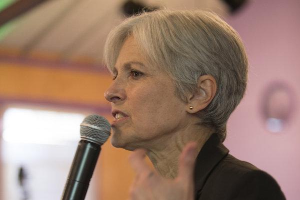 Prezidentská kandidátka zelených Jill Stein.