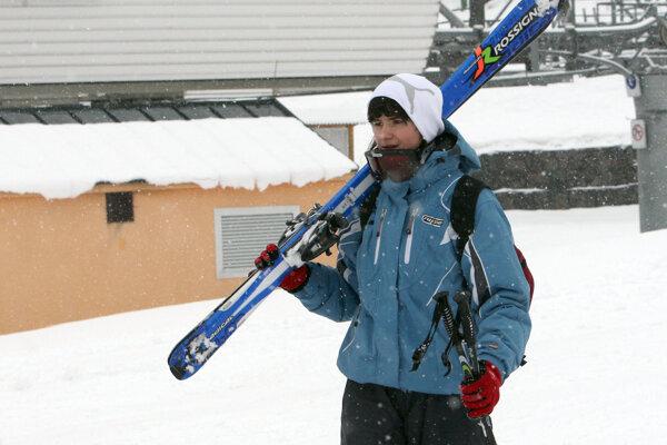 O tom, kedy sa vyberú lyžiari tento rok prvý raz na svahy na hornej Nitre, rozhodne počasie.
