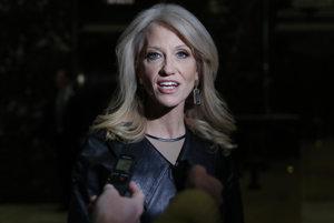 Manažérka Trumpovej kampane Kellyanne Conwayová.
