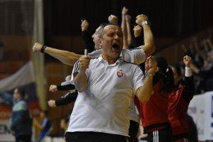 Radosť trénera Poloza.