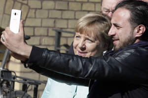 Merkelová je pre utečencov hrdinkou. Niektorí po nej pomenovali aj svoje deti.