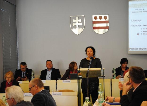 Jana Mikšová zastupovala obyvateľov Sabinovskej ulice.