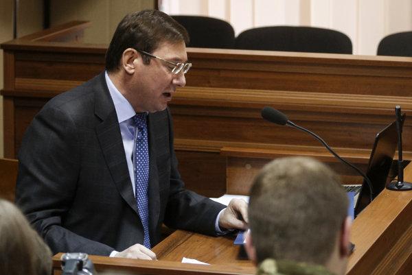 Ukrajinský generálny prokurátor Jurij Lucenko.