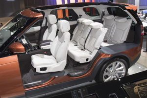 Nový Land Rover Discovery.