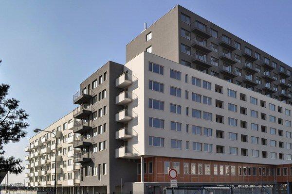 V komplexe sa nachádza mix bytov od jednoizbových po štvorizbové, viac ako 80 percent z celkovej skladby bytov tvoria dvojizbové.