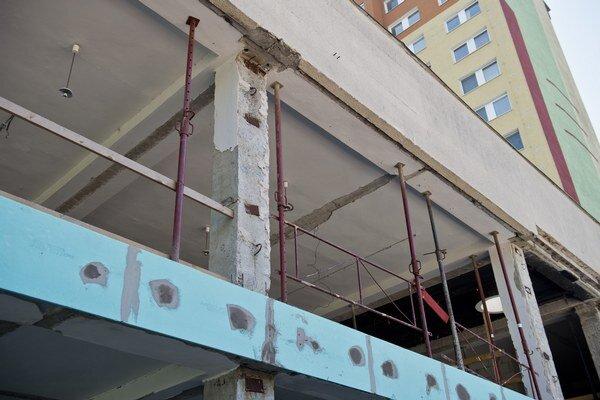 Stavebné práce odštartovali v marci.